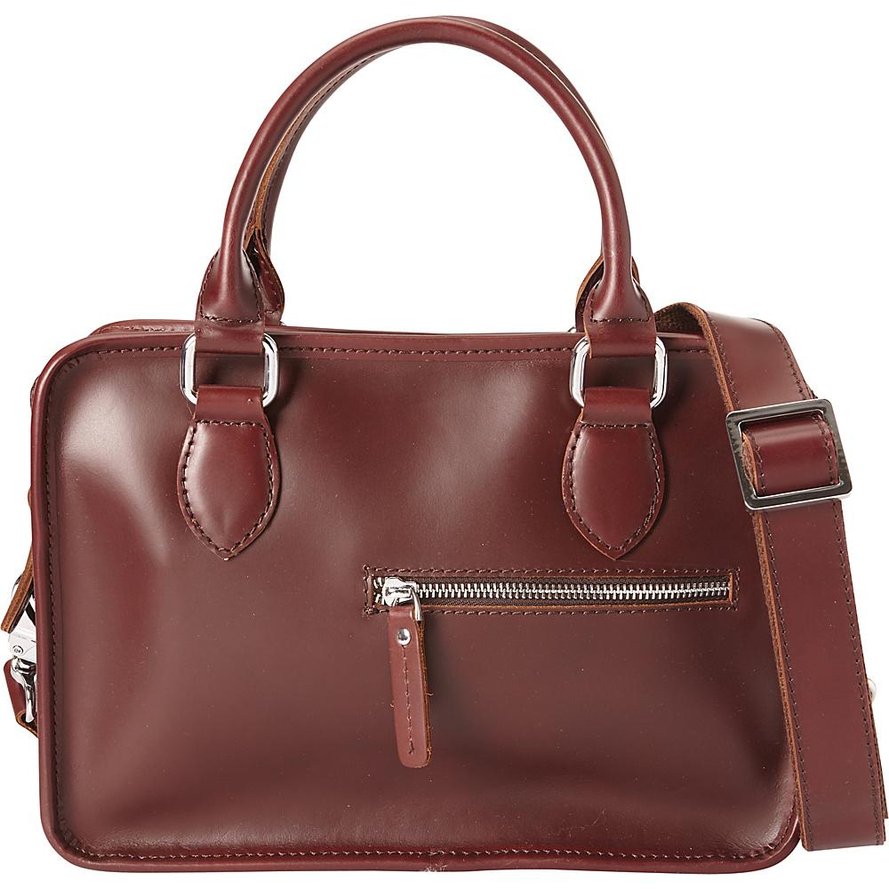 Vagabond Traveler Classic Small Crossbody Wine Red - Vagabond Traveler Leather Handbags - Handbags, Leather Handbags