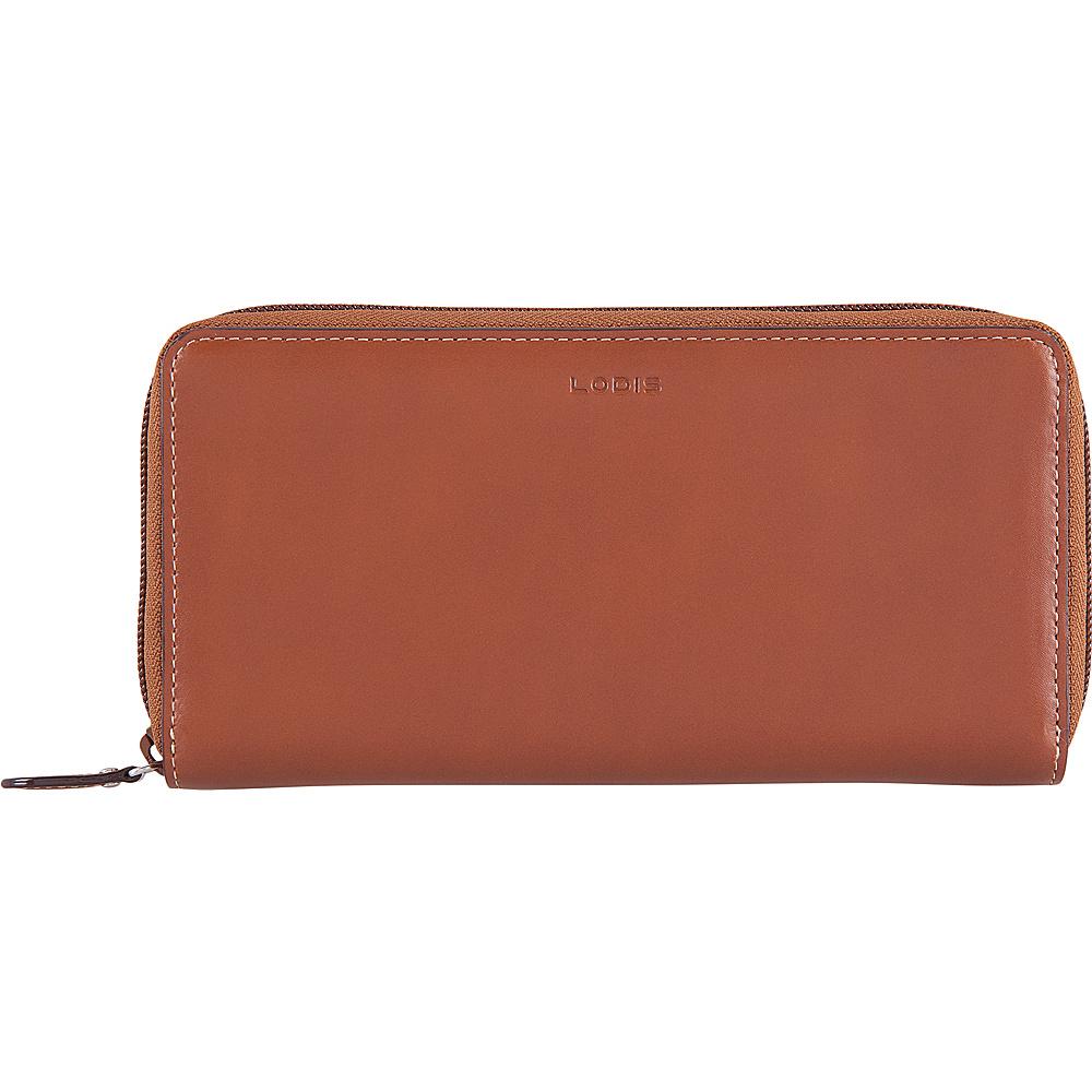 Lodis Audrey RFID Perla Zip Wallet Sequoia/Papaya - Lodis Womens Wallets - Women's SLG, Women's Wallets