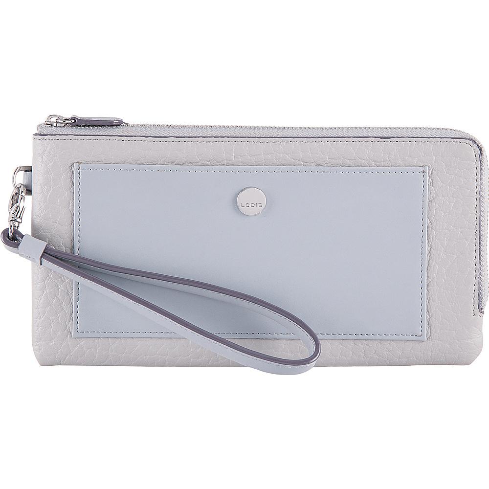Lodis In The Mix RFID Rosalind Wristlet Cement - Lodis Womens Wallets - Women's SLG, Women's Wallets