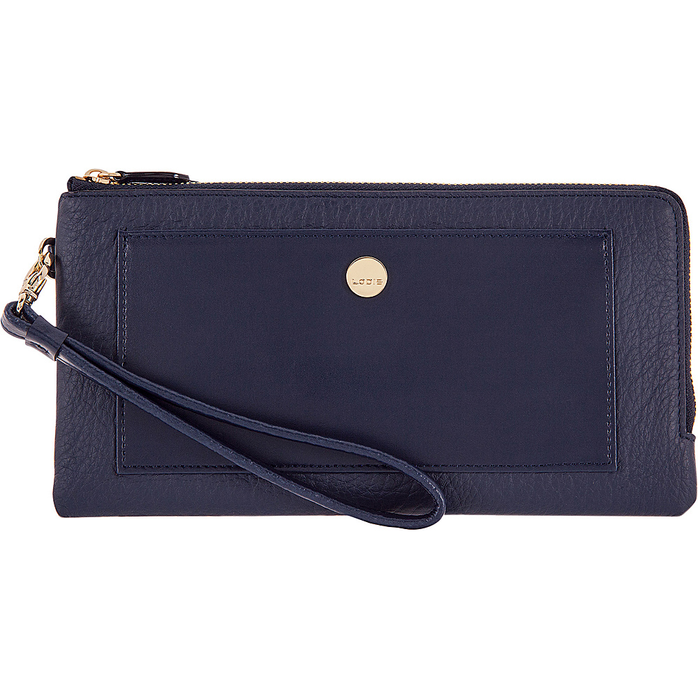 Lodis In The Mix RFID Rosalind Wristlet Navy - Lodis Womens Wallets - Women's SLG, Women's Wallets