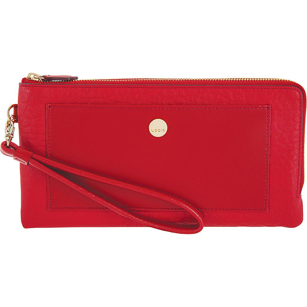 Lodis In The Mix RFID Rosalind Wristlet Red - Lodis Womens Wallets - Women's SLG, Women's Wallets