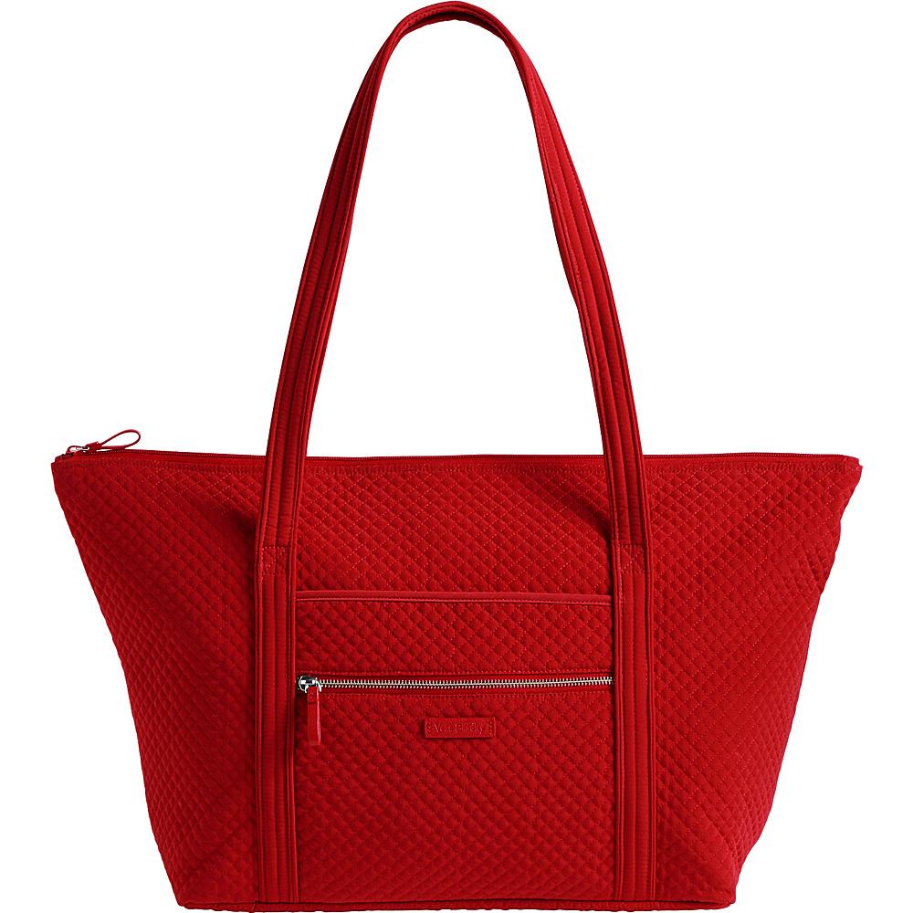 Vera Bradley Iconic Miller Travel Bag - Solids Cardinal Red - Vera Bradley Fabric Handbags - Handbags, Fabric Handbags