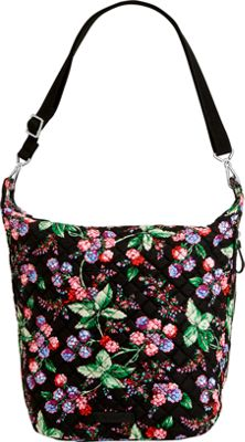 Vera Bradley Carson Hobo Bag Winter Berry - Vera Bradley Fabric Handbags