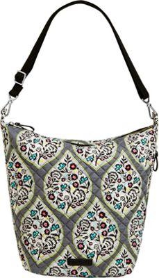 Vera Bradley Carson Hobo Bag Heritage Leaf - Vera Bradley Fabric Handbags