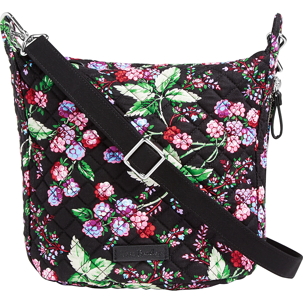 Vera Bradley Carson Mini Hobo Crossbody Winter Berry - Vera Bradley Fabric Handbags - Handbags, Fabric Handbags