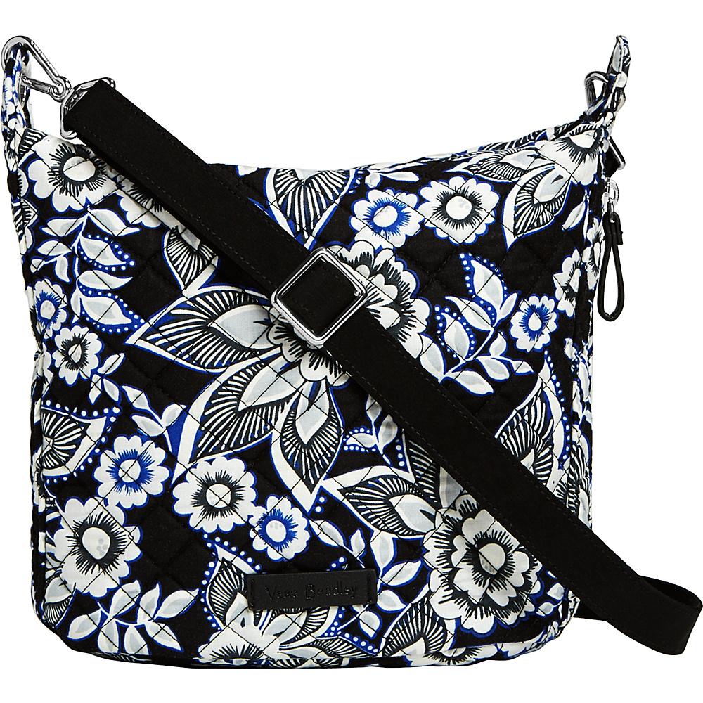 Vera Bradley Carson Mini Hobo Crossbody Snow Lotus - Vera Bradley Fabric Handbags - Handbags, Fabric Handbags