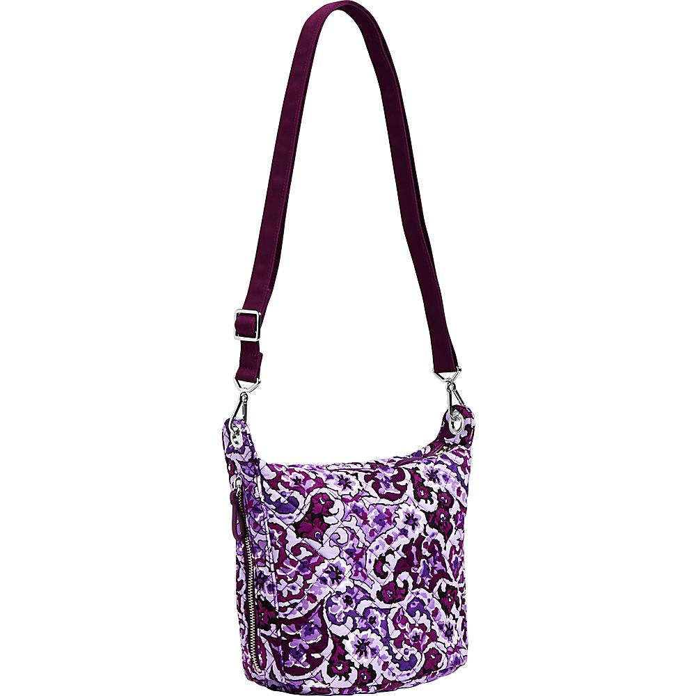 Vera Bradley Carson Mini Hobo Crossbody Lilac Paisley - Vera Bradley Fabric Handbags - Handbags, Fabric Handbags