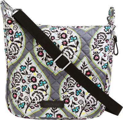 Vera Bradley Carson Mini Hobo Crossbody Heritage Leaf - Vera Bradley Fabric Handbags