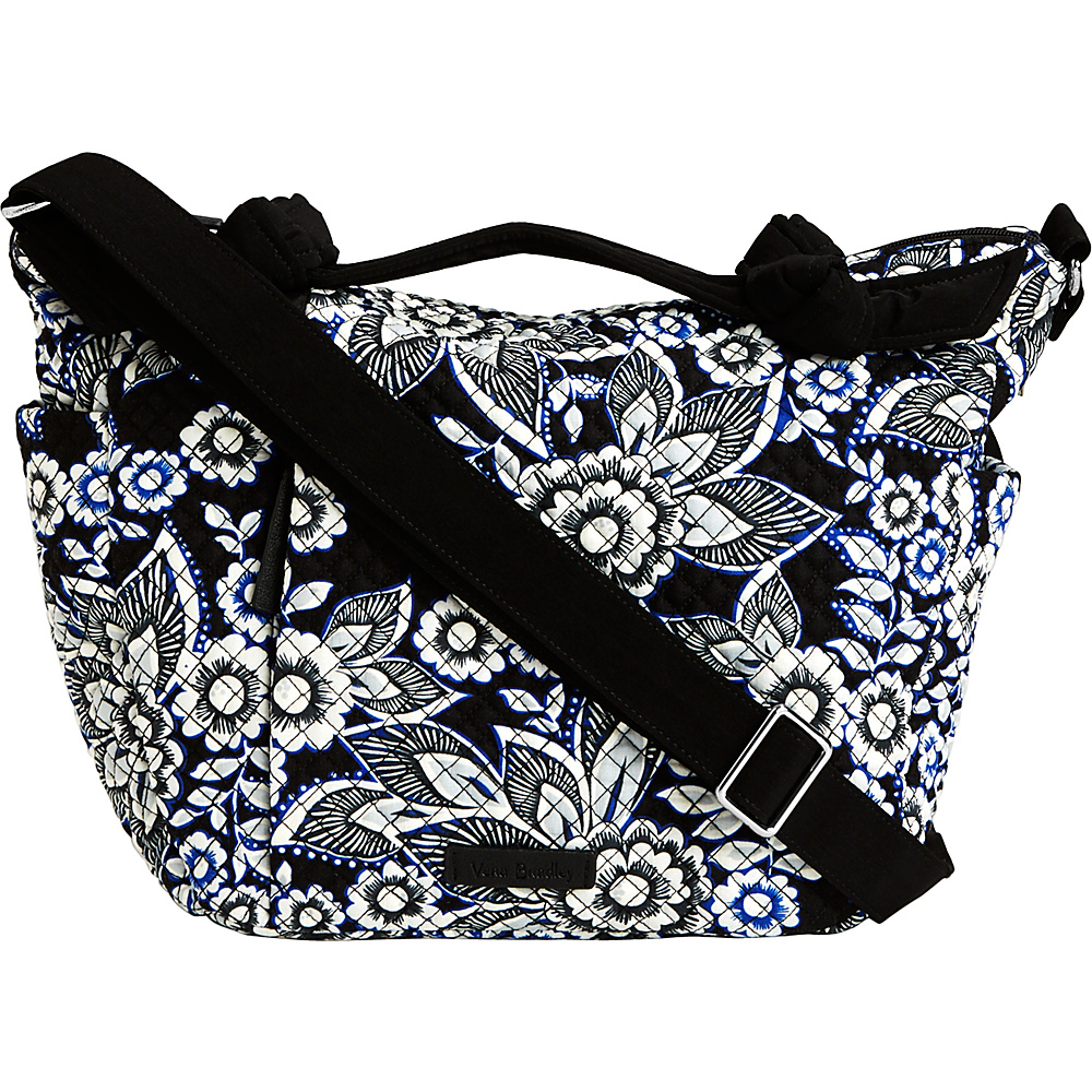 Vera Bradley Hadley On the Go Satchel Snow Lotus - Vera Bradley Fabric Handbags - Handbags, Fabric Handbags