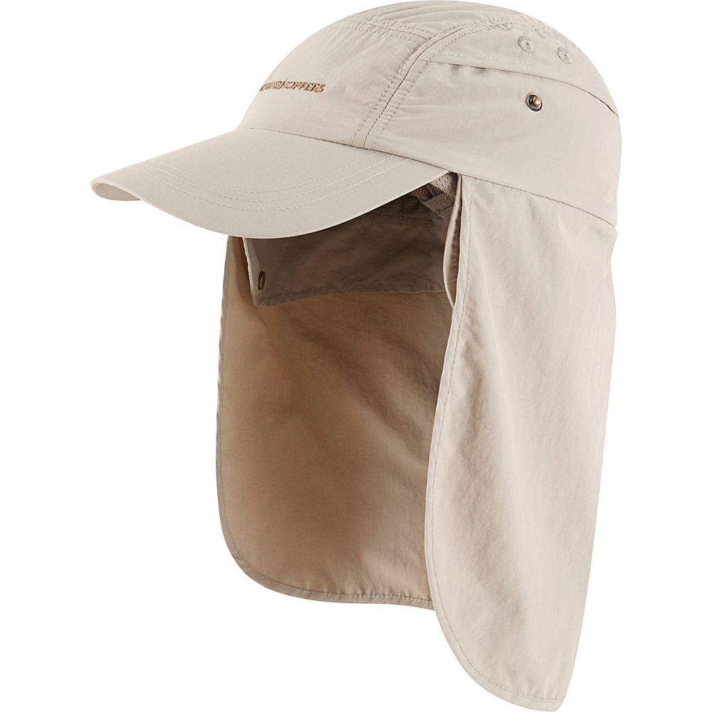 Craghoppers Mens Nat Geo NosiLife Desert Hat M/L - Pebble - Craghoppers Hats/Gloves/Scarves - Fashion Accessories, Hats/Gloves/Scarves