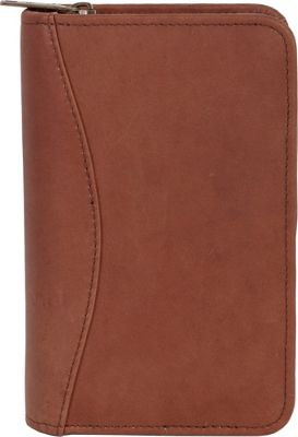 Scully Canyon Leather Zip Pocket Planner Tan - Scully Bus...