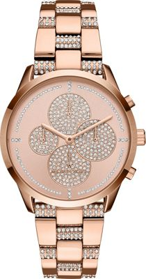 Michael Kors Watches Slater Watch Rose Gold - Michael Kors Watches Watches