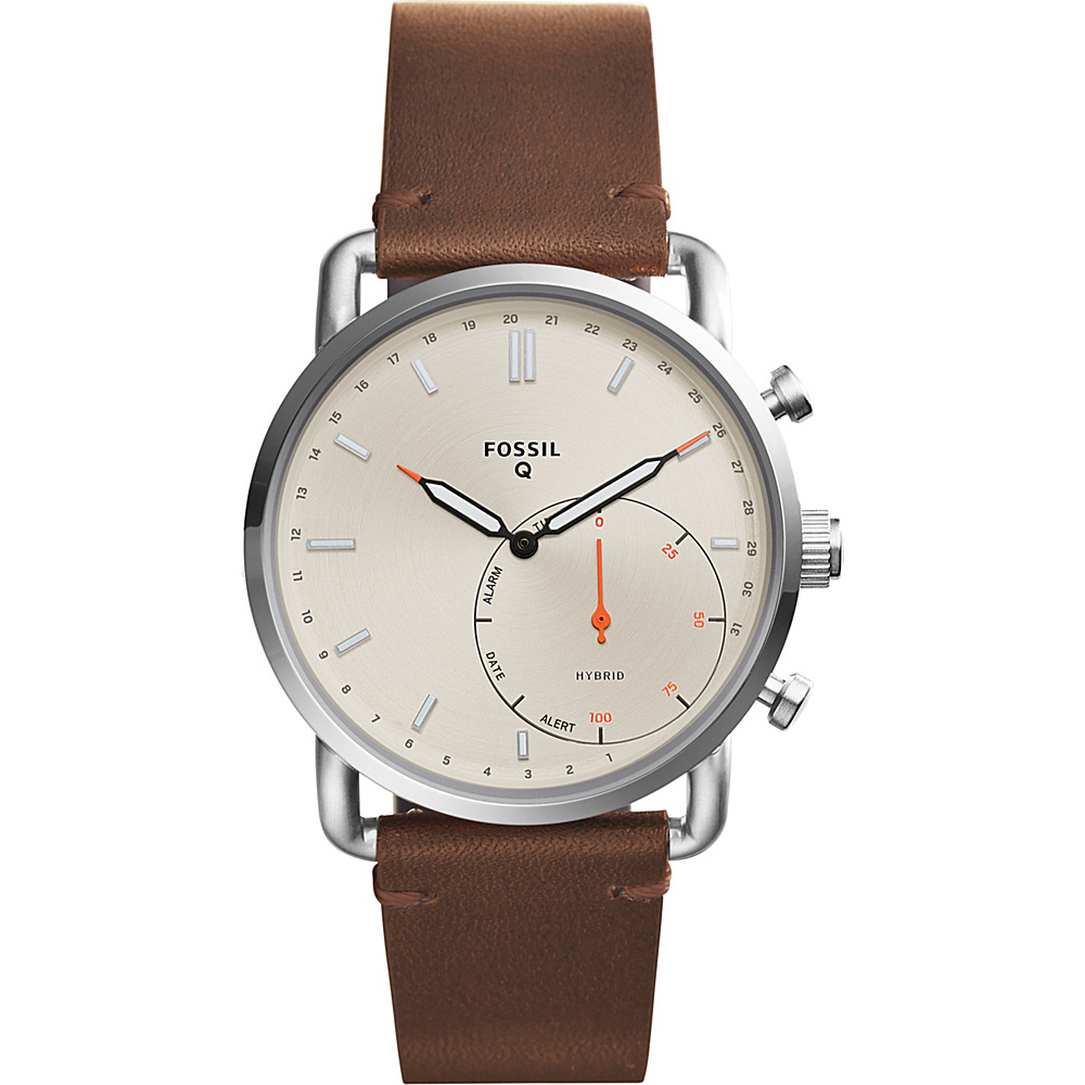 Fossil Hybrid Smartwatch - Q Commuter Brown - Fossil Wearable Technology - Technology, Wearable Technology