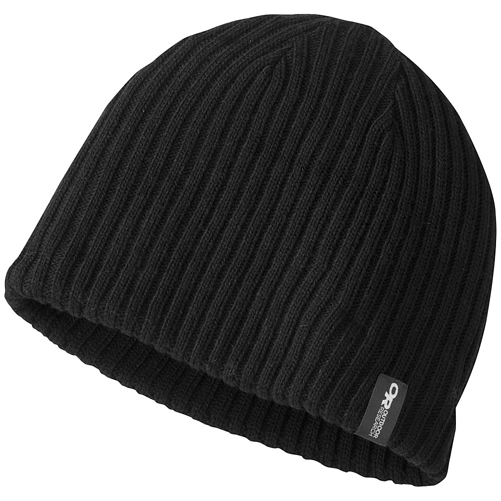 Outdoor Research Mens Camber Beanie One Size - Black - Outdoor Research Hats/Gloves/Scarves - Fashion Accessories, Hats/Gloves/Scarves