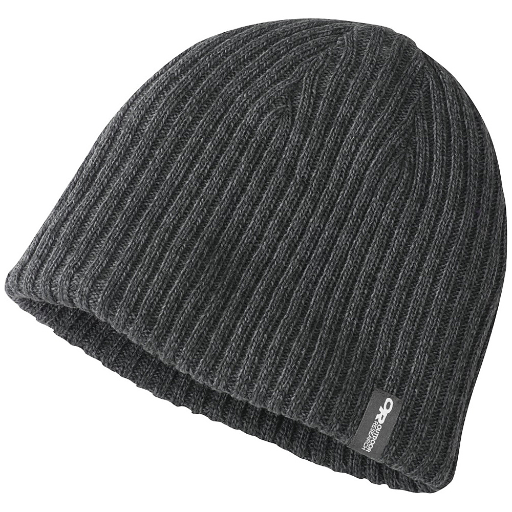 Outdoor Research Mens Camber Beanie One Size - Pewter/Charcoal - Outdoor Research Hats/Gloves/Scarves - Fashion Accessories, Hats/Gloves/Scarves