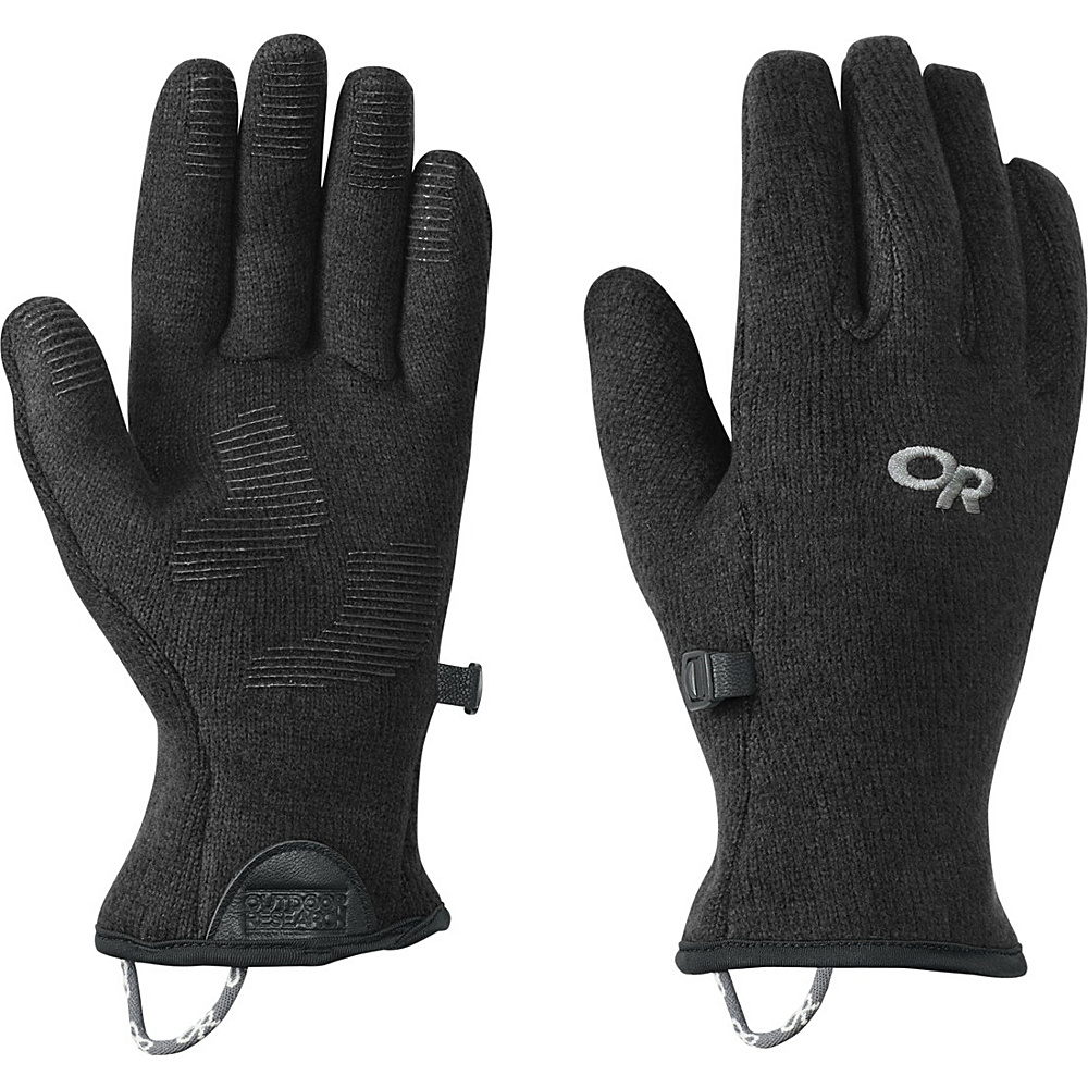 Outdoor Research Womens Longhouse Sensor Gloves L - Black - Outdoor Research Hats/Gloves/Scarves - Fashion Accessories, Hats/Gloves/Scarves