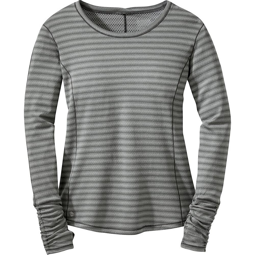 Outdoor Research Womens Keara L/S Shirt L - Pewter/Charcoal - Outdoor Research Womens Apparel - Apparel & Footwear, Women's Apparel