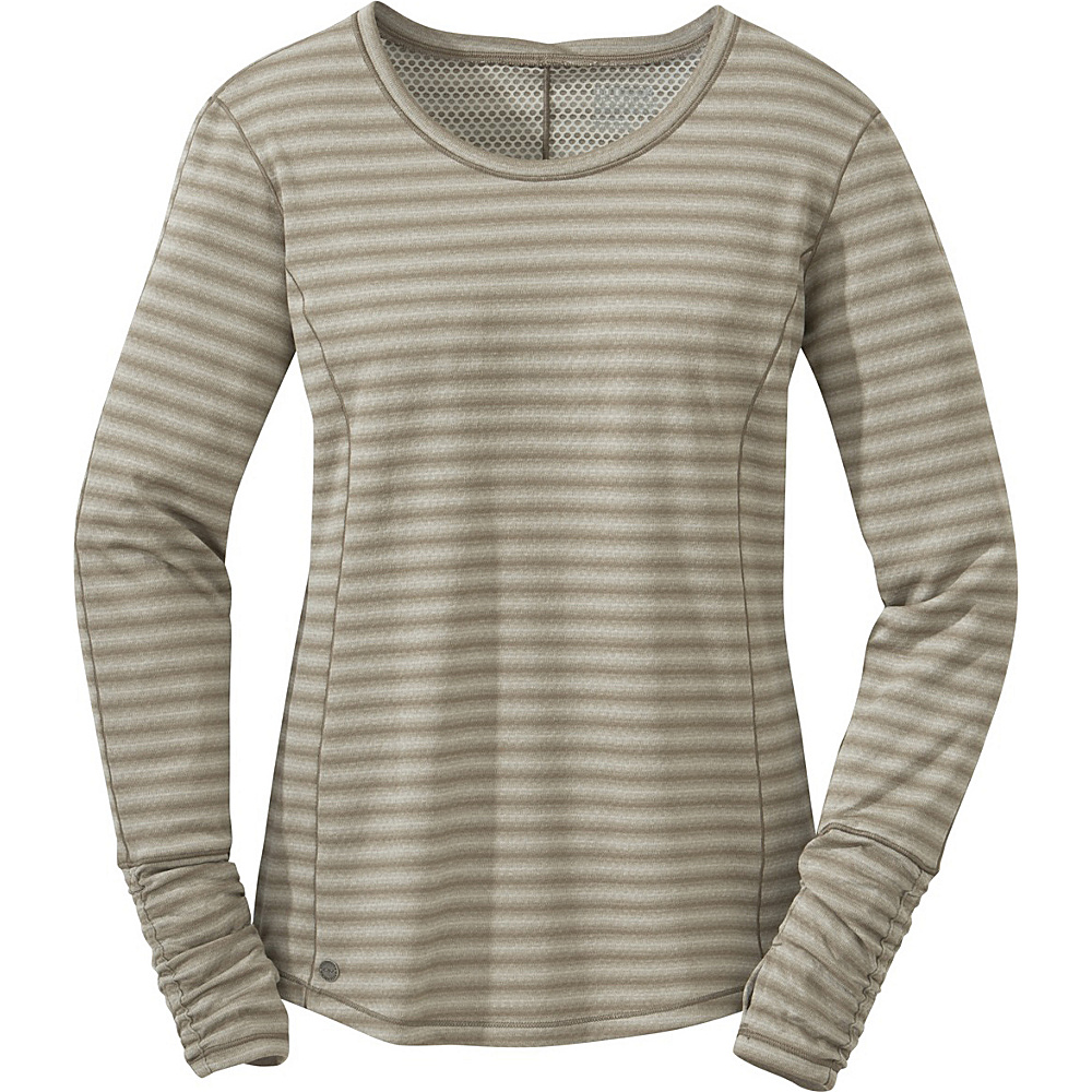 Outdoor Research Womens Keara L/S Shirt L - Cairn/Walnut - Outdoor Research Womens Apparel - Apparel & Footwear, Women's Apparel