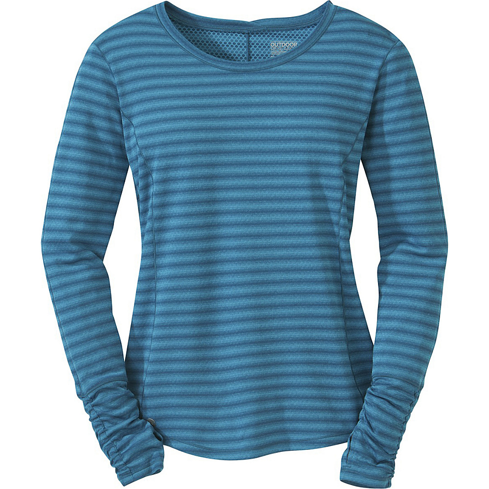 Outdoor Research Womens Keara L/S Shirt S - Oasis - Outdoor Research Womens Apparel - Apparel & Footwear, Women's Apparel