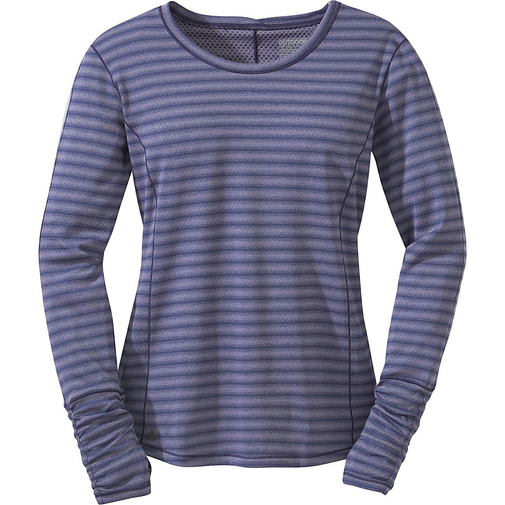 Outdoor Research Womens Keara L/S Shirt M - Fig/Blue Violet - Outdoor Research Womens Apparel - Apparel & Footwear, Women's Apparel