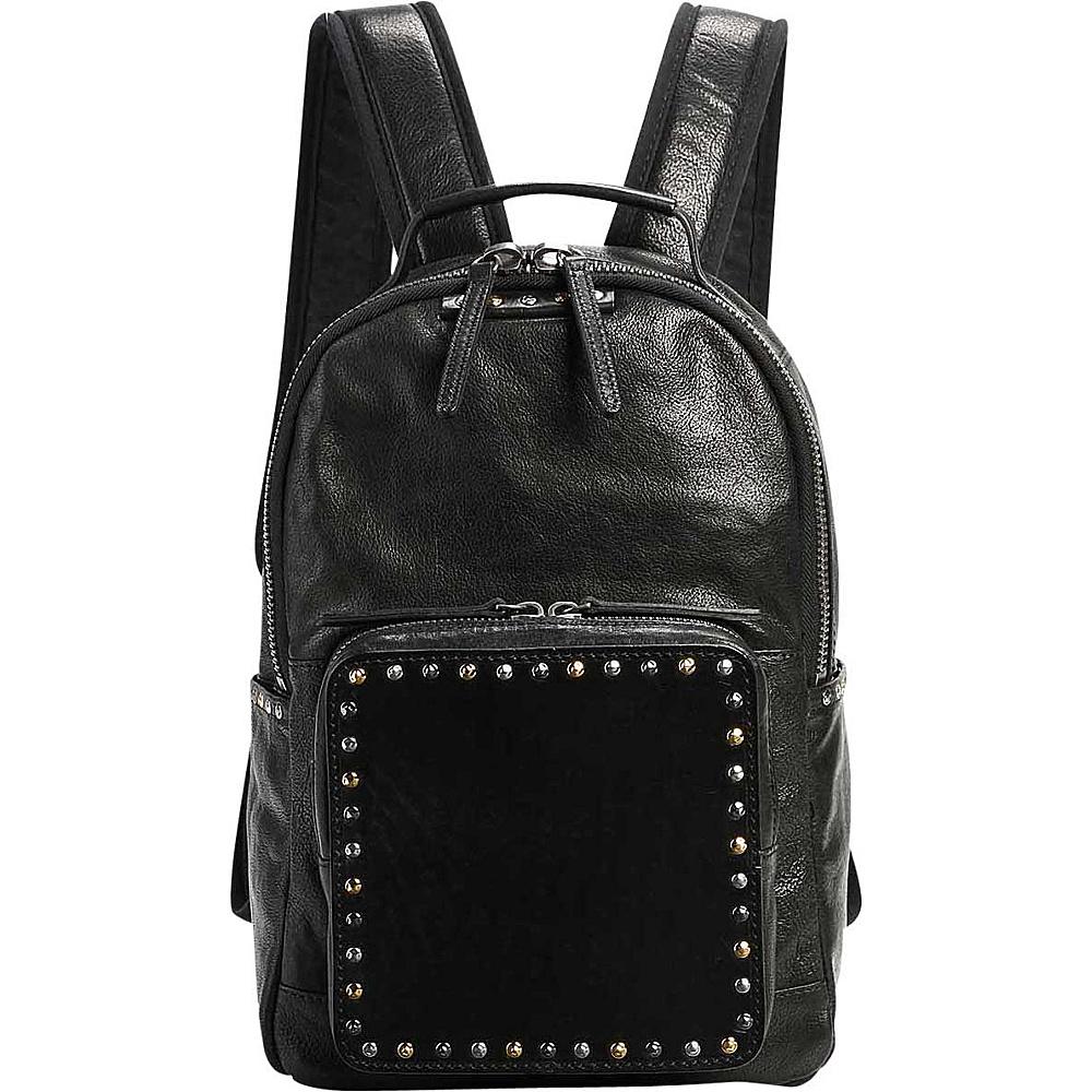 Old Trend Soul Stud Backpack Black - Old Trend Leather Handbags