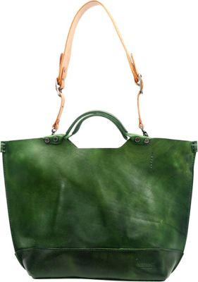 Old Trend Gypsy Soul Tote Olive - Old Trend Leather Handbags