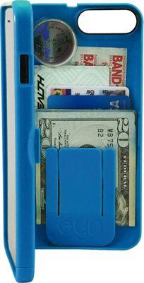 eyn case iPhone 7 Plus Storage Wallet Case Blue - eyn case Electronic Cases