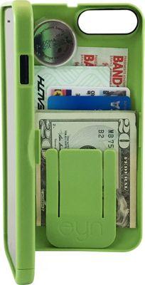 eyn case iPhone 7 Plus Storage Wallet Case Greenery - eyn case Electronic Cases