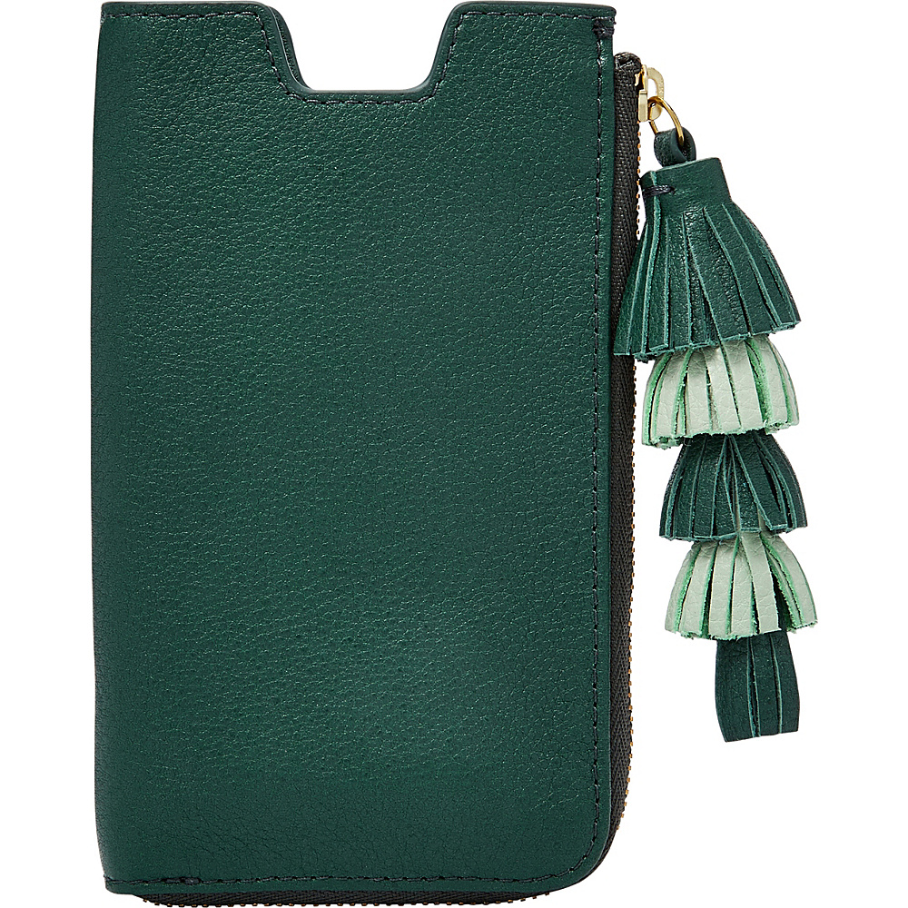 Fossil RFID Phone Sleeve Wallet Alpine Green - Fossil Womens Wallets - Women's SLG, Women's Wallets
