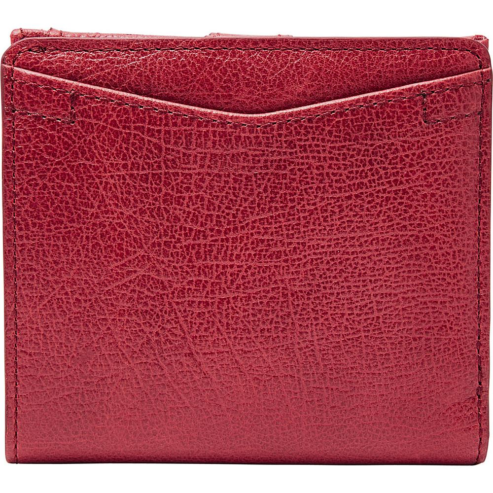 Fossil Caroline RFID Mini Wallet Red Velvet - Fossil Womens Wallets - Women's SLG, Women's Wallets