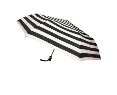 Kenlo Stripe Umbrella Black and White Stripe - Kenlo Umbrellas and Rain Gear