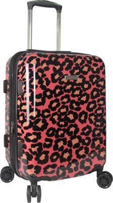Isaac Mizrahi Gabby 22 inch 8-Wheel Hardside Spinner Carry-On Luggage Pink - Isaac Mizrahi Hardside Carry-On
