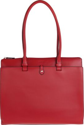 Lodis Audrey Jessica Work Satchel - Discontinued Colors Red - Lodis Leather Handbags