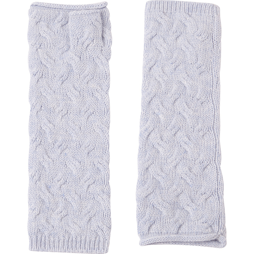 Kinross Cashmere Cable Texting Gloves One Size - Ceil - Kinross Cashmere Hats/Gloves/Scarves - Fashion Accessories, Hats/Gloves/Scarves
