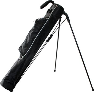 Taboo Fashions Sidekick Sunday Range/Travel Bag Silver - Taboo Fashions Golf Bags