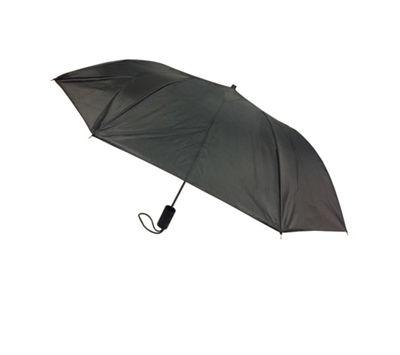 Kingstate Fullsize Automatic Open Umbrella Black - Kingstate Umbrellas and Rain Gear