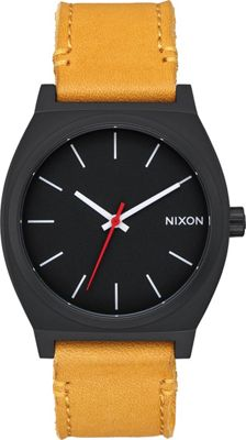 Nixon Time Teller Watch All Black/Goldenrod - Nixon Watches