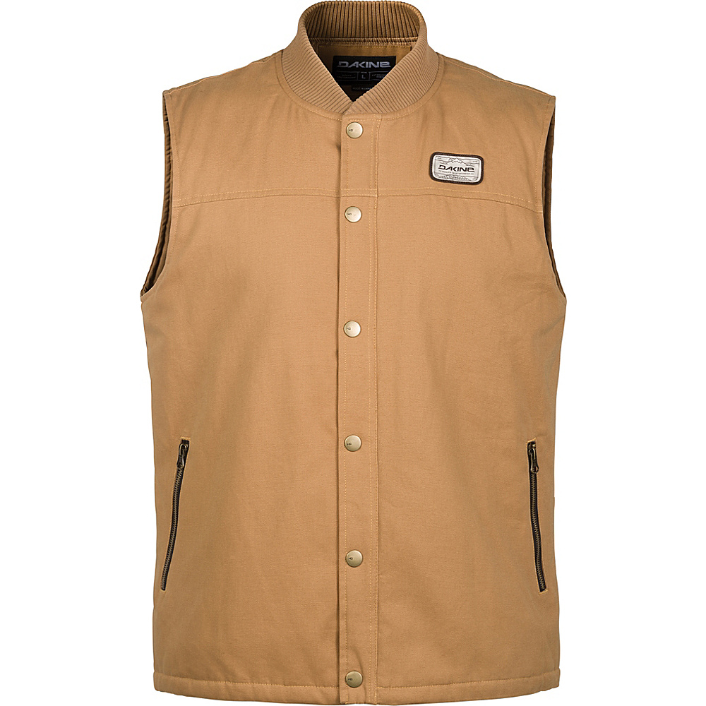 DAKINE Mens Clark Vest XL - Buckskin - DAKINE Mens Apparel - Apparel & Footwear, Men's Apparel