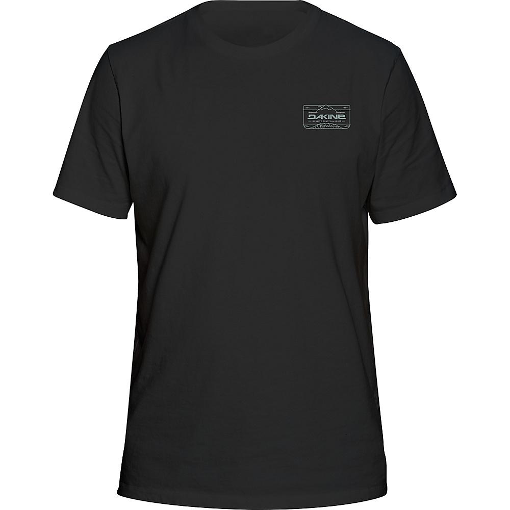 DAKINE Mens Peak To Peak T-Shirt S - Black - DAKINE Mens Apparel - Apparel & Footwear, Men's Apparel