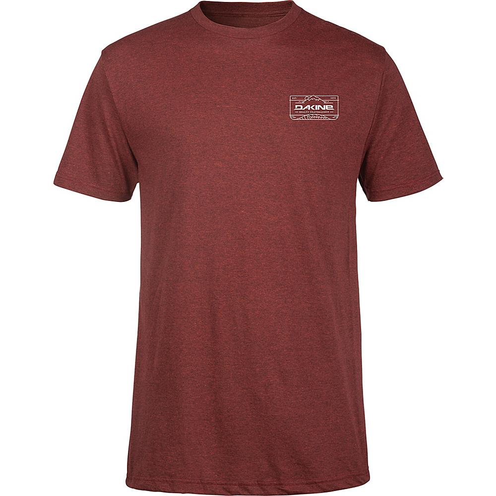 DAKINE Mens Peak To Peak T-Shirt S - Brick Black Heather - DAKINE Mens Apparel - Apparel & Footwear, Men's Apparel