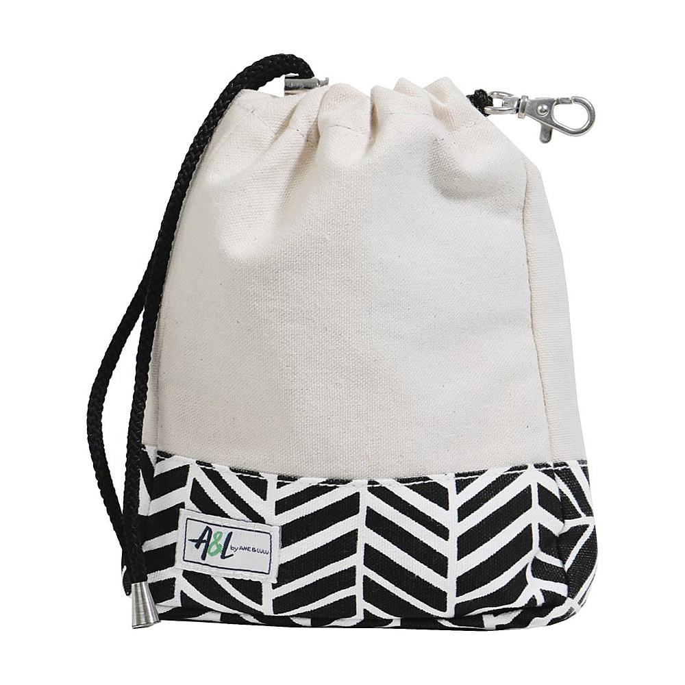 Image of Ame & Lulu A&L Digsby Ditty Bag Black Shutters - Ame & Lulu Sports Accessories