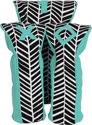 Ame & Lulu A&L Palmetto Head Covers Black Shutters - Ame & Lulu Sports Accessories