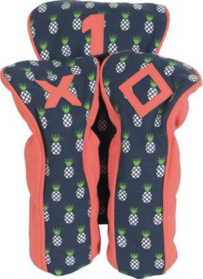 Ame & Lulu A&L Palmetto Head Covers Pineapple - Ame & Lulu Sports Accessories