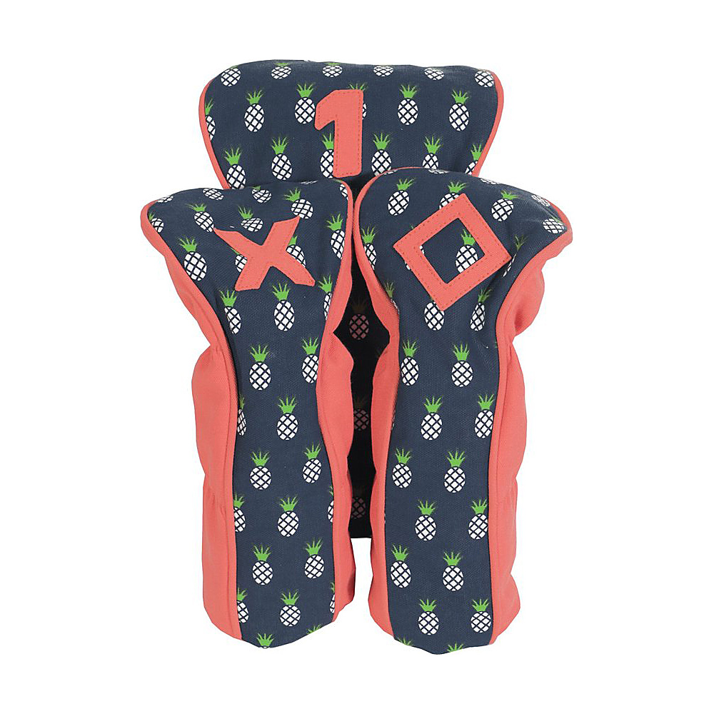 Image of Ame & Lulu A&L Palmetto Head Covers Pineapple - Ame & Lulu Sports Accessories