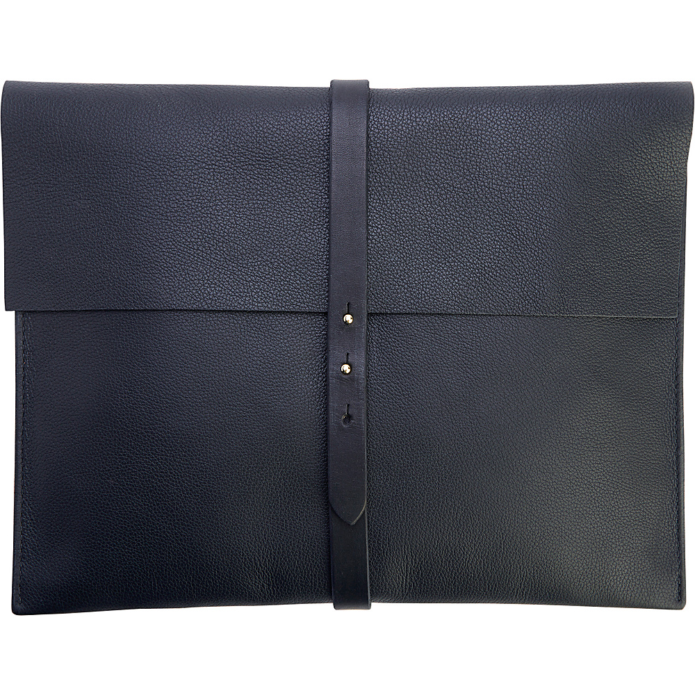 Royce Leather American Leather Pebble Grain 13 Laptop Sleeve Black - Royce Leather Electronic Cases - Technology, Electronic Cases