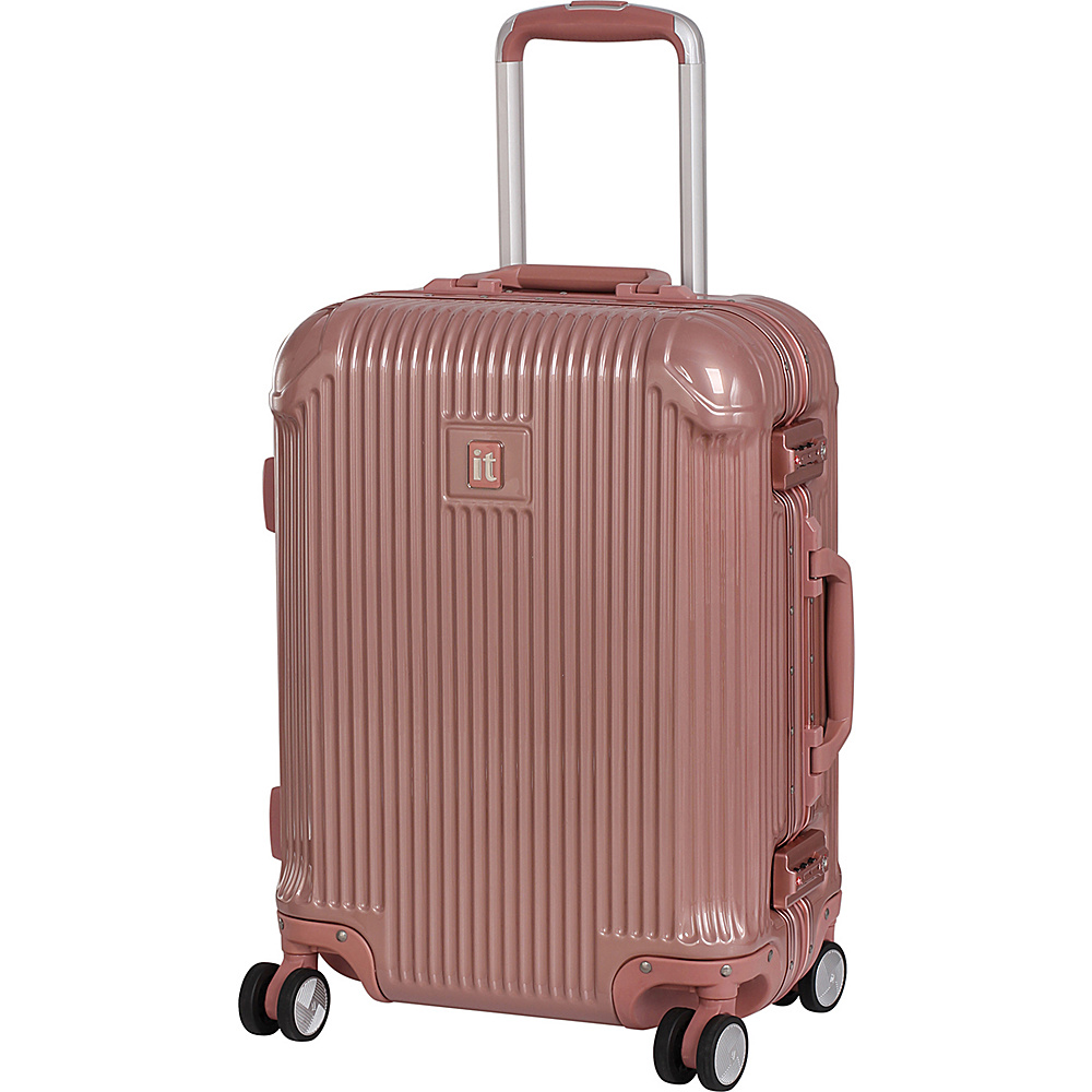 it luggage Crusader 20.7 Hardside Carry-On Spinner Luggage Almondine - it luggage Hardside Carry-On