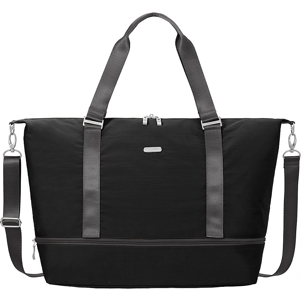 baggallini Expandable Carry On Duffel Black/Charcoal - baggallini Travel Duffels - Duffels, Travel Duffels