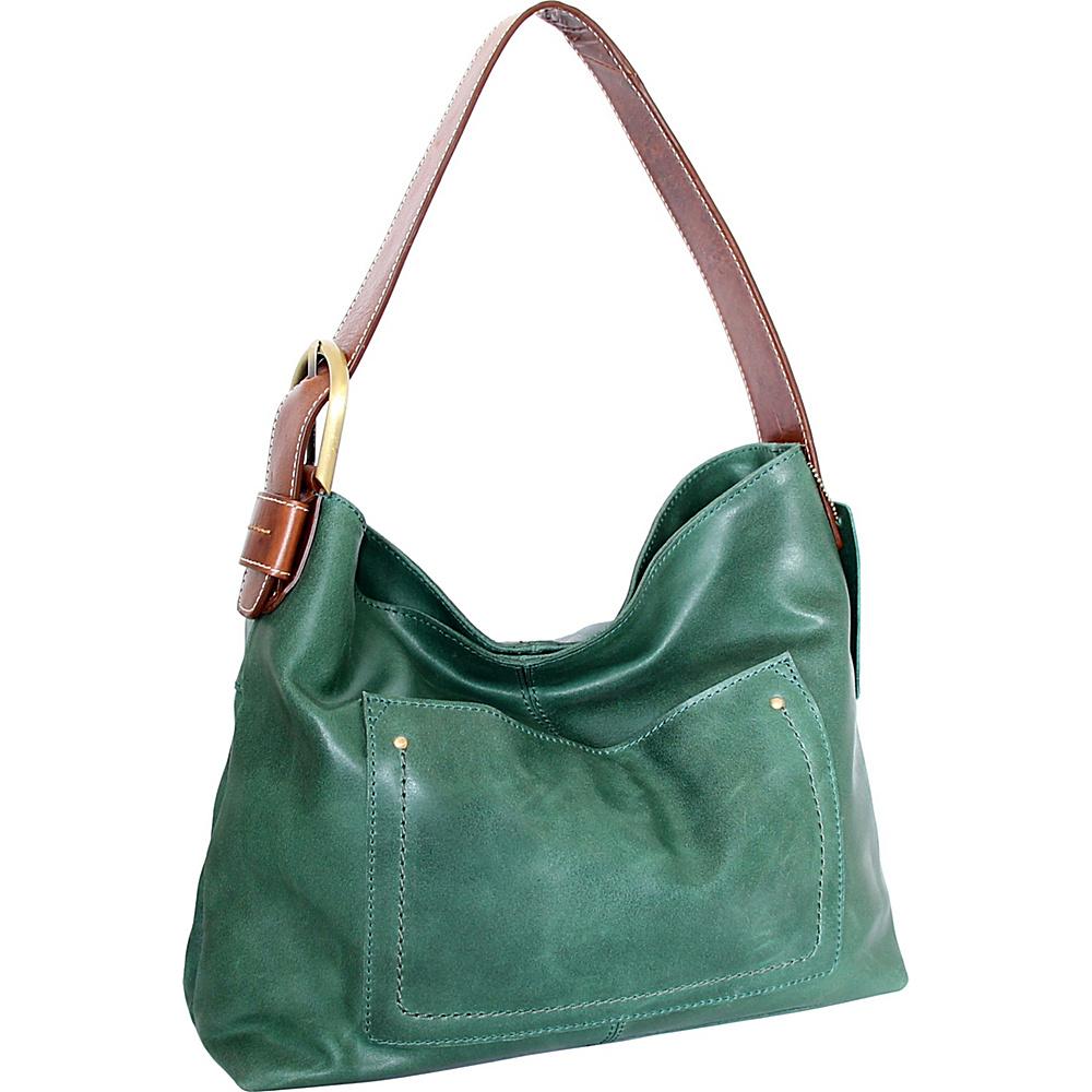 Nino Bossi Cayla Hobo Moss - Nino Bossi Leather Handbags - Handbags, Leather Handbags