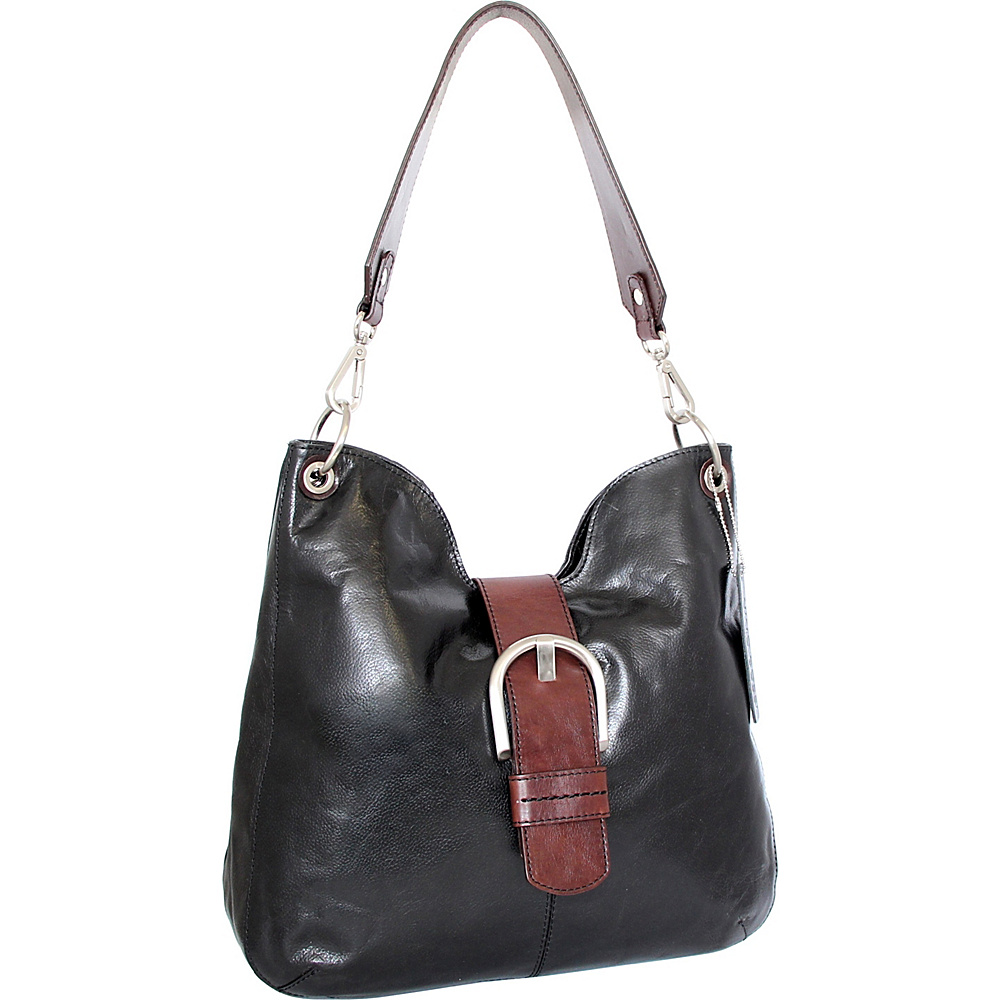 Nino Bossi Jacinta Shoulder Bag Black - Nino Bossi Leather Handbags - Handbags, Leather Handbags