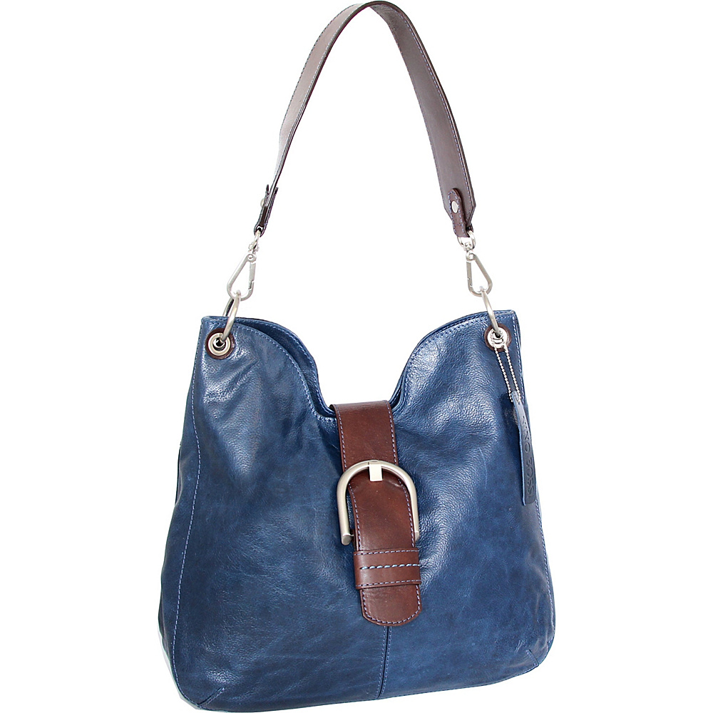 dd98166520 Nino Bossi Jacinta Shoulder Bag Blue - Nino Bossi Leather Handbags  Jacinta  Shoulder Bag Blue. Tote everyday essentials in snazzy style with this  leather ...